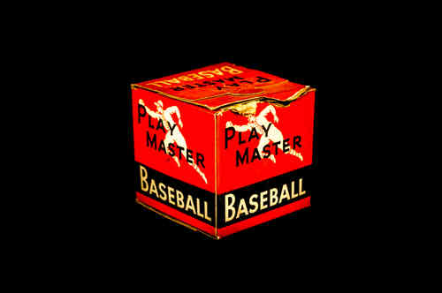 BOX ONLY: Play Master Official Little League Baseball No. LL