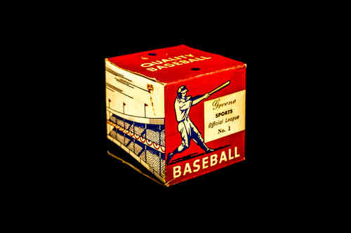 BOX ONLY: Greene Sports Official League Baseball No. 1