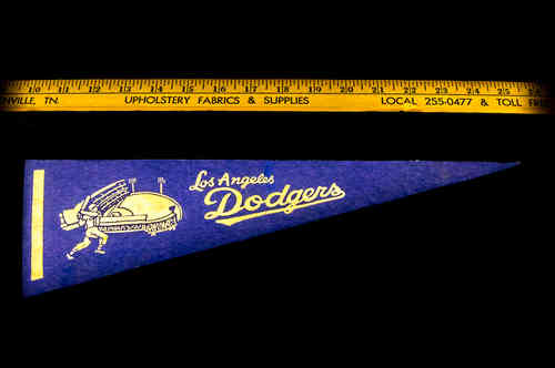 Sm Blue Los Angeles Dodgers Pennant