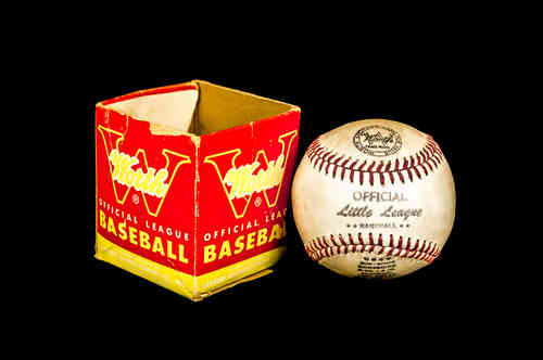Worth Official Little League baseball in box