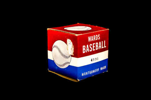 BOX ONLY: Wards Baseball No 4133