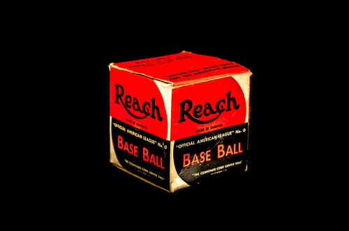 BOX ONLY: Reach Official American League No 0 Base Ball