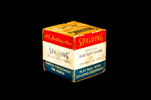 BOX ONLY: Spalding Official Babe Ruth League No 174 Base Ball
