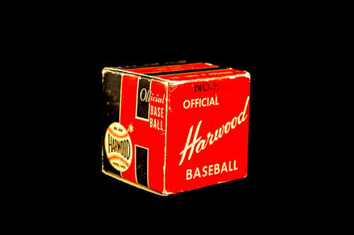 BOX ONLY: Harwood Official Baseball No HPL