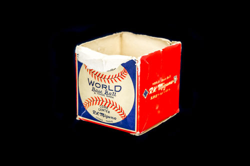 BOX ONLY: R.K. Mizuno World Base Ball
