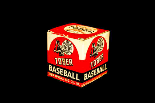 BOX ONLY: Tober Official League Baseball No DYL