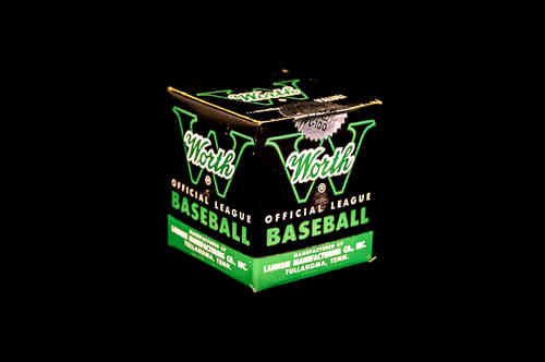 UNOPENED Worth Official League PL-100 Baseball in Box