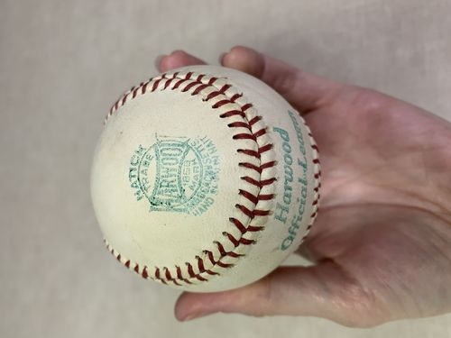 Harwood Official League Baseball in box # CC