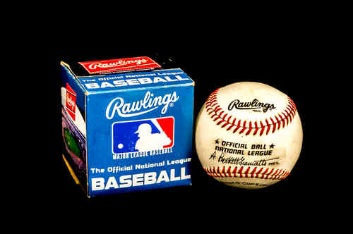 1985 Rawlings Official National League Baseball No RO-N in box