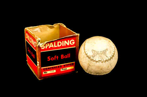 Spalding Soft Ball No 1123 in Box