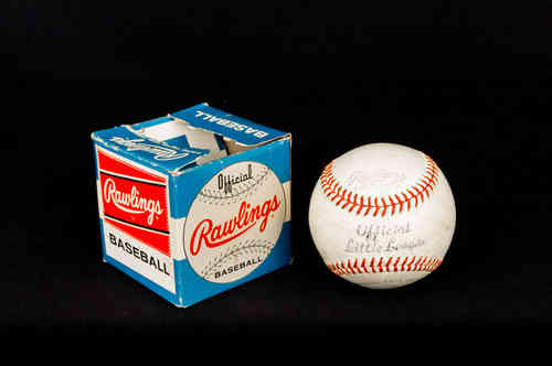 Rawlings Official LLB Little League Baseball in Box