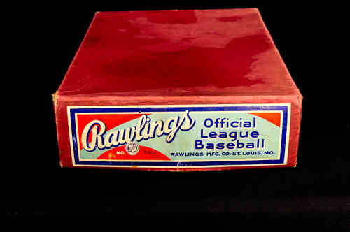 BOX ONLY Rawlings Official League Baseball Master Box No 70 CC