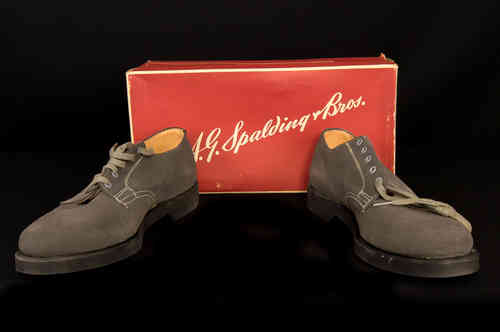 New-In-Box Spalding Suede Shoes