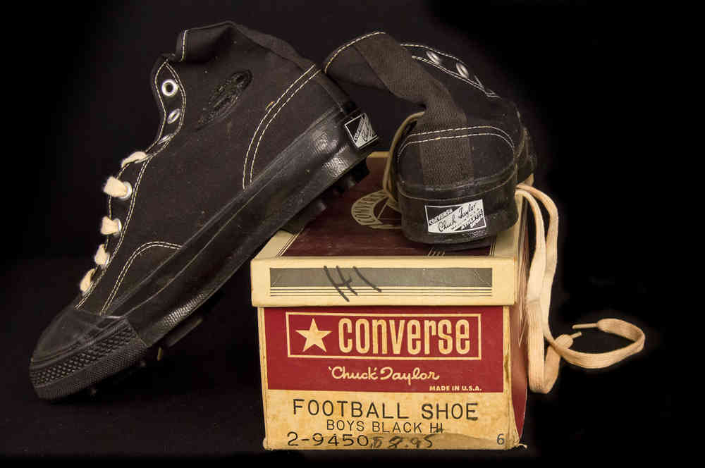 2c796df99264 New-In-Box Canvas Converse Chuck Taylor Football Shoes Vintage