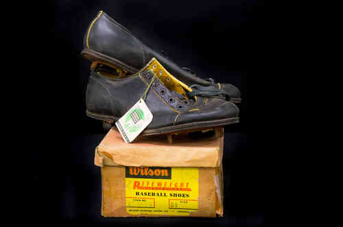 New-In-Box Wilson Kangaroo Leather Baseball Cleats