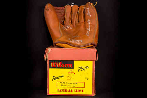 "Wilson A2980 ""Pete Runnels"" Baseball Glove in Box"