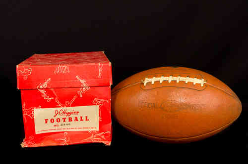 JC Higgins | Sears Roebuck Football No 2446 in Box