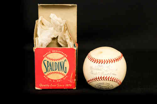 "Spalding Official National League ""Ford Frick"" Baseball in Box"