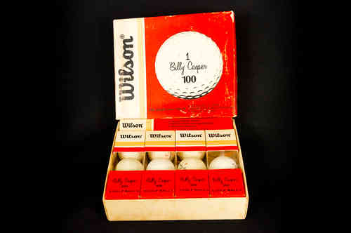 "Wilson ""Billy Casper"" 100 Complete Golf Ball Master Box"