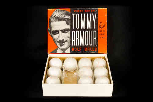 "Worthington ""Tommy Armour"" Golf Balls Master Box"