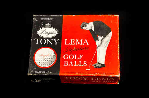 "BOX ONLY: ""Tony Lema"" Picture Box"