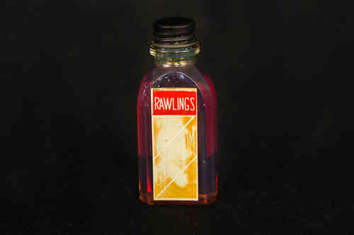1920's Rawlings Glovolium Baseball Glove Oil Bottle