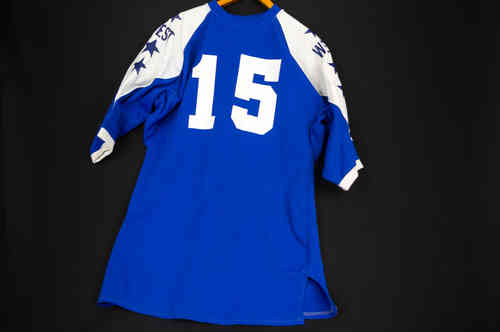 East-West All-Star Poly-Blend Tapered Sleeve Mens Football Jersey