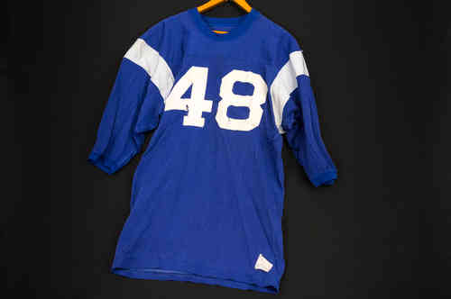 Champion Products Durene Tapered Sleeve Mens Football Jersey