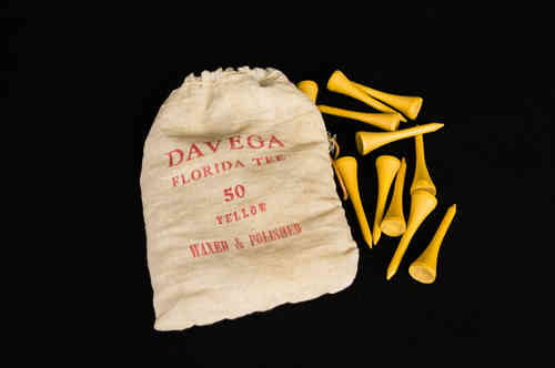 Davega Golf Tees in Cloth Bag