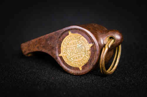 Early Spalding Celluloid Whistle - Acme Thunderer