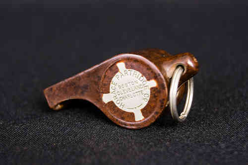 Early Horace Partridge Celluloid Whistle - Acme Thunderer