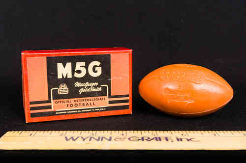 M5G MacGregor Football Soap in Box