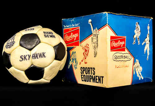 Rawlings Sports Equipment S53S Skyhawk Soccer Ball in box