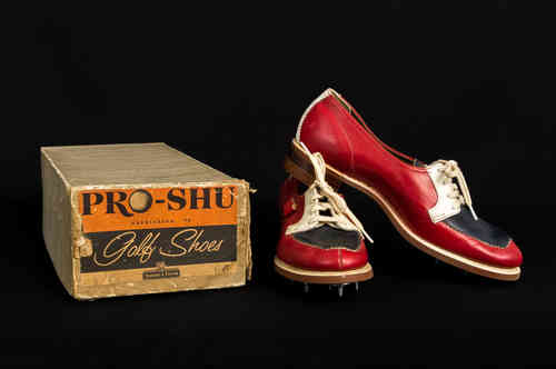 New-In-Box Pro-Shu Ladies Leather Golf Shoes Size 6A