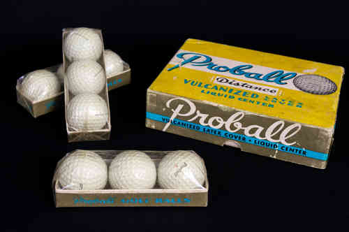 New-In-Box Proball Liquid Center Distance Golf Balls