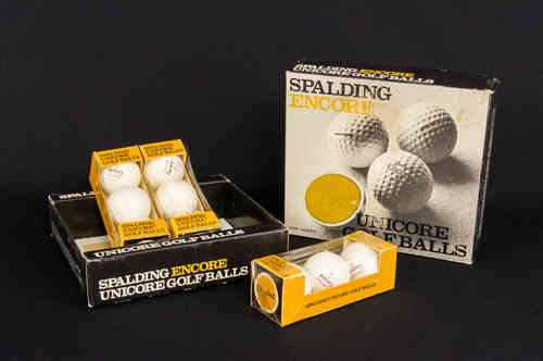 New-In-Box Spalding Encore Unicore Golf Balls