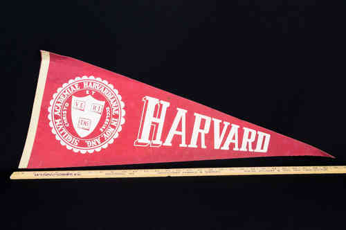 Harvard Full-Size Pennant Red