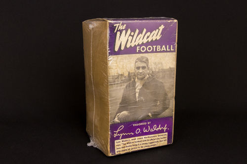 "PICTURE BOX ONLY: ""Lynn O. Waldorf"" Wildcat Football No 5523"