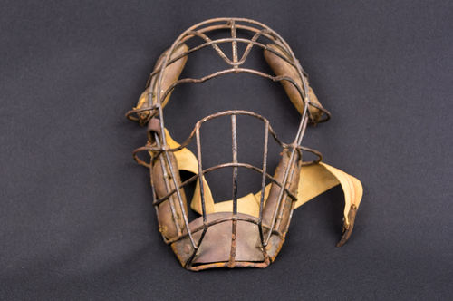 Turn-of-the-Century Metal Spiderman Catcher's Mask