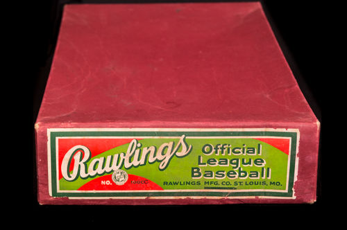 BOX ONLY: Rawlings Official League Baseball Master Box No 100 CC