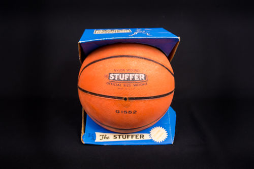 "1960's Rubber Basketball ""The Stuffer"" No G1552 in Box"