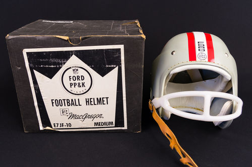 Unused 1960's MacGregor Ford PP&K San Francisco 49ers Football Helmet in Box