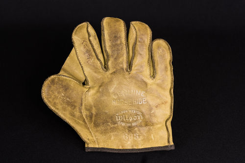 Early Wilson Western Children's Baseball Glove No 663 Salesman sample size
