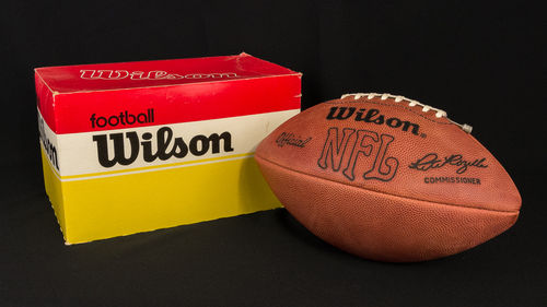 "New in Box Wilson ""Pete Rozelle"" Football in Box"