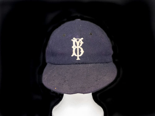 1950's Game-worn Brigham Young Wool Baseball Cap