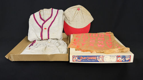 New Old Stock Children's Baseball Play Suit Uniform