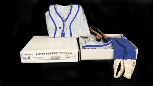 New Old Stock Little League Children's Baseball Play Suit Uniform