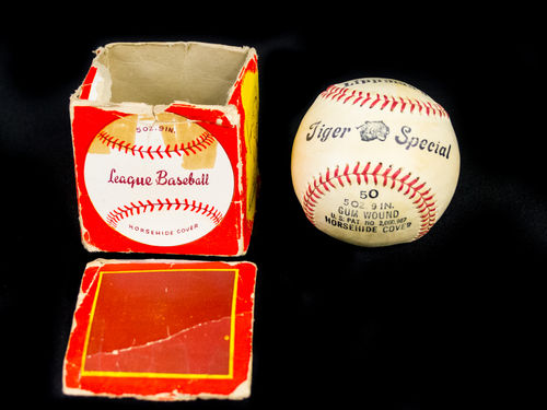 Unused Lippman's Tiger Special Baseball