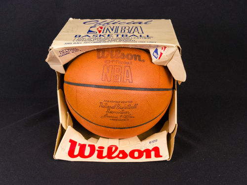 Wilson Official NBA Leather Basketball in Box