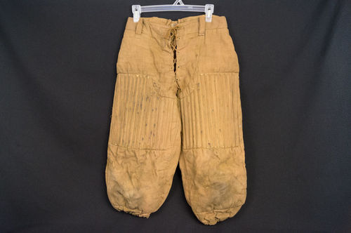 Vintage 1920s Spalding Padded Reeded Thigh Football Pants